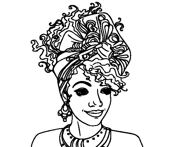 Best ideas about Free Coloring Pages Of African Americans . Save or Pin African American Woman Coloring Pages Now.