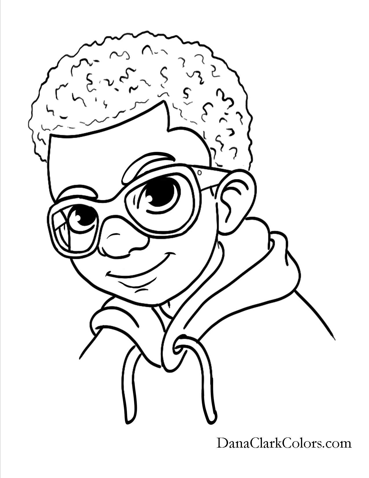 Best ideas about Free Coloring Pages Of African Americans . Save or Pin African American Black African boys and girls of color Now.
