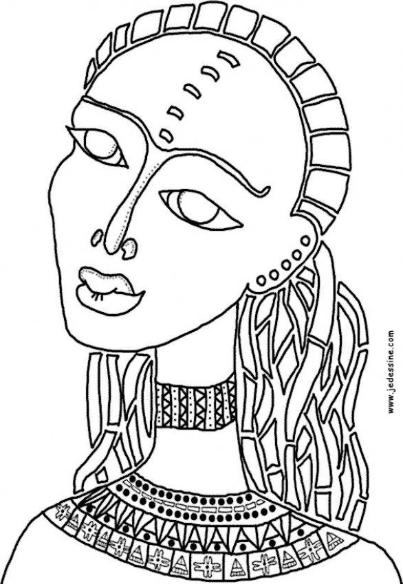 Best ideas about Free Coloring Pages Of African Americans . Save or Pin african color sheets for kids Now.
