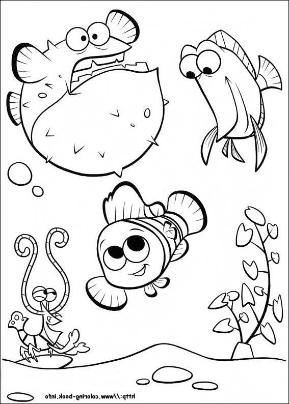 Best ideas about Free Coloring Pages Of Finding Nemo . Save or Pin Finding Nemo coloring page and Disney coloring page Now.