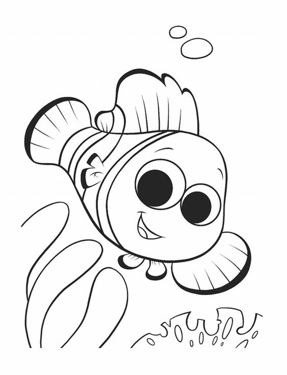 Best ideas about Free Coloring Pages Of Finding Nemo . Save or Pin Free Printable Nemo Coloring Pages For Kids Now.