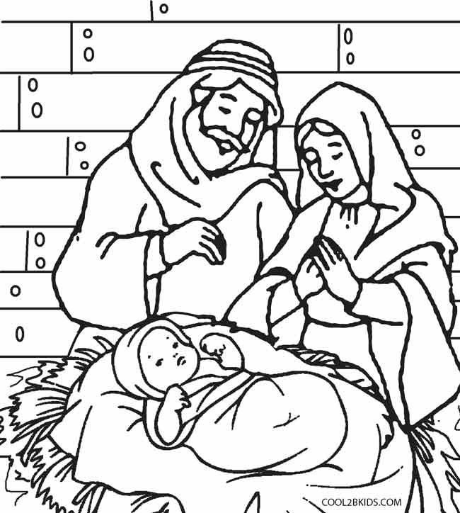 Best ideas about Free Coloring Pages Of The Nativity . Save or Pin Printable Nativity Scene Coloring Pages for Kids Now.