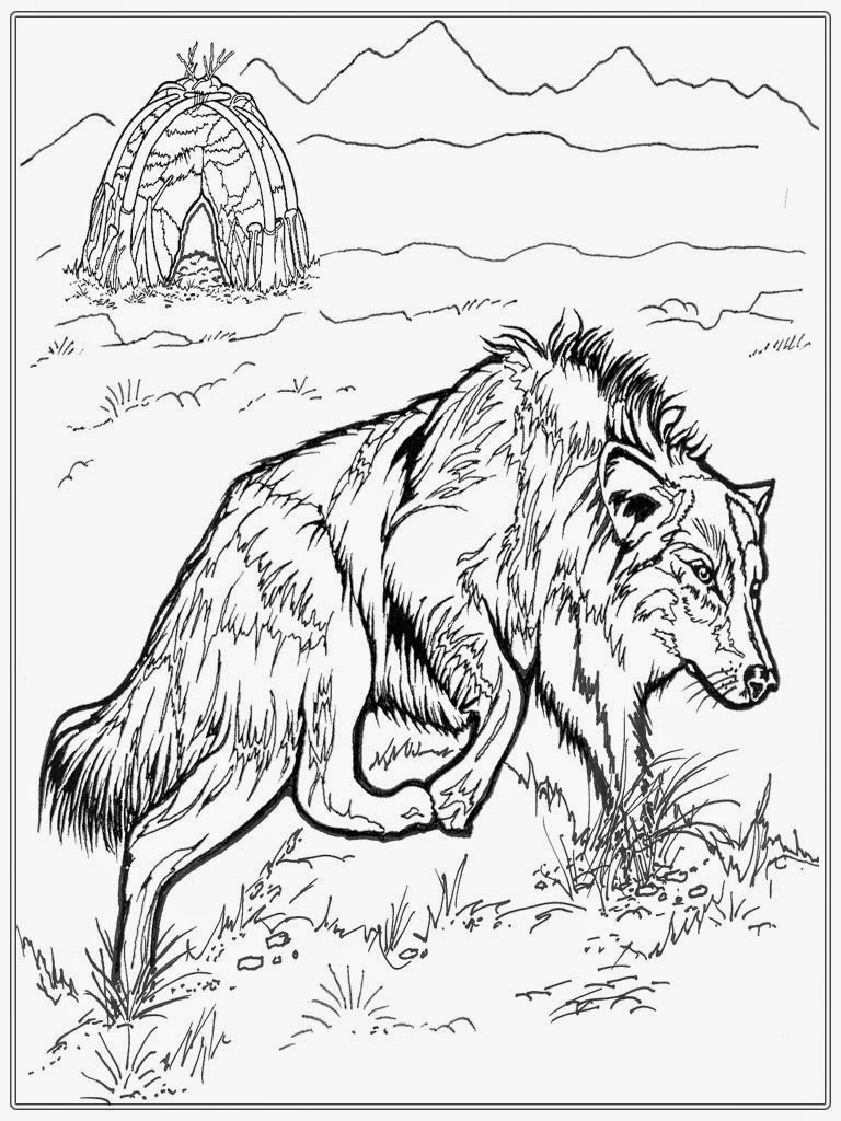 Best ideas about Free Coloring Pages Of Wolves . Save or Pin Realistic Wolf Adult Coloring Pages Now.
