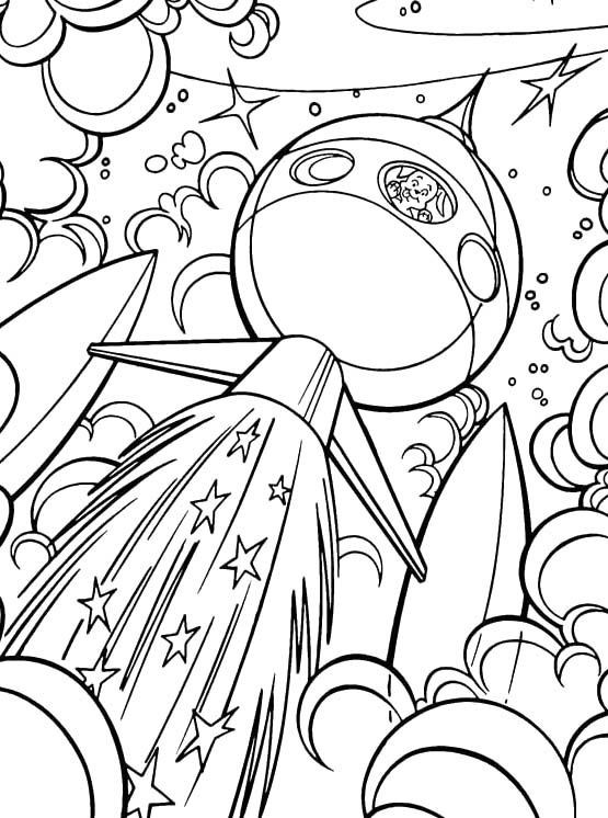 Best ideas about Free Coloring Pages Outer Space . Save or Pin Krypto The Dog Go Into Outer Space Coloring Pages Krypto Now.
