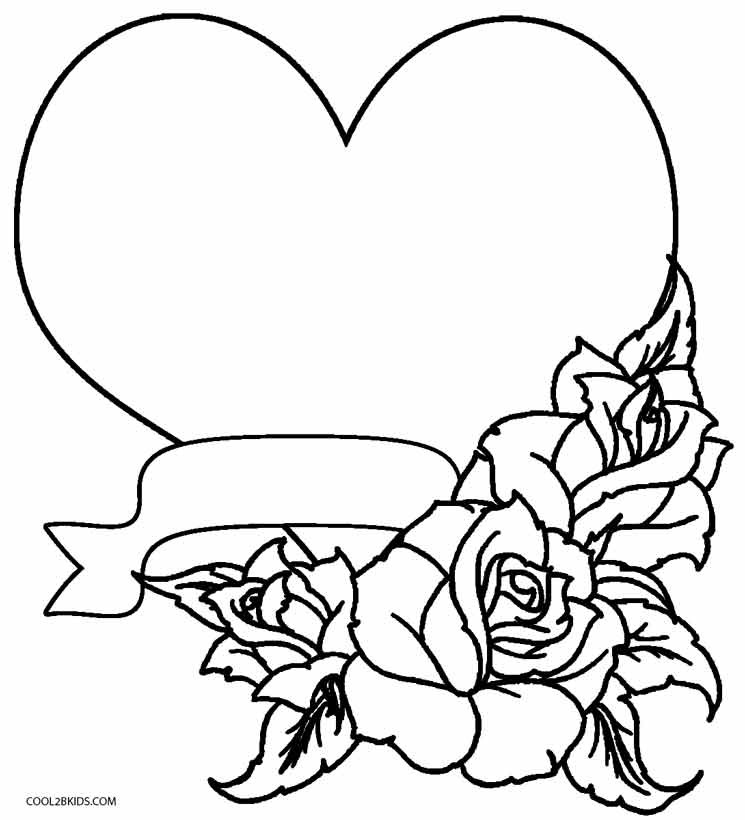 Best ideas about Free Coloring Pages Roses . Save or Pin Printable Rose Coloring Pages For Kids Now.