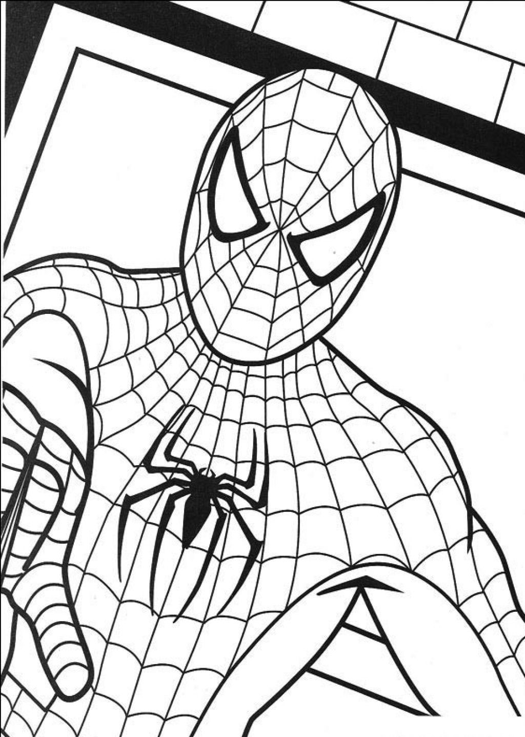 Best ideas about Free Coloring Pages To Print For Kids . Save or Pin Free Printable Spiderman Coloring Pages For Kids Now.