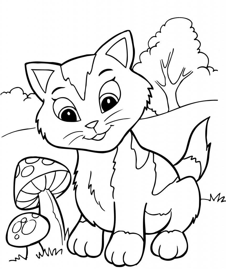 Best ideas about Free Coloring Pages To Print For Kids . Save or Pin Free Printable Kitten Coloring Pages For Kids Best Now.