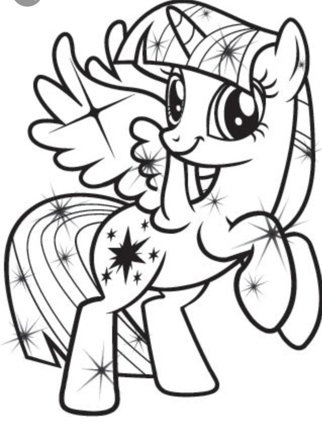 Best ideas about Free Coloring Pages Twilight . Save or Pin Twilight Sparkle coloring page My Little Pony Now.
