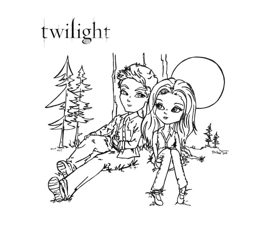 Best ideas about Free Coloring Pages Twilight . Save or Pin Coloring Pages Twilight Coloring Home Now.