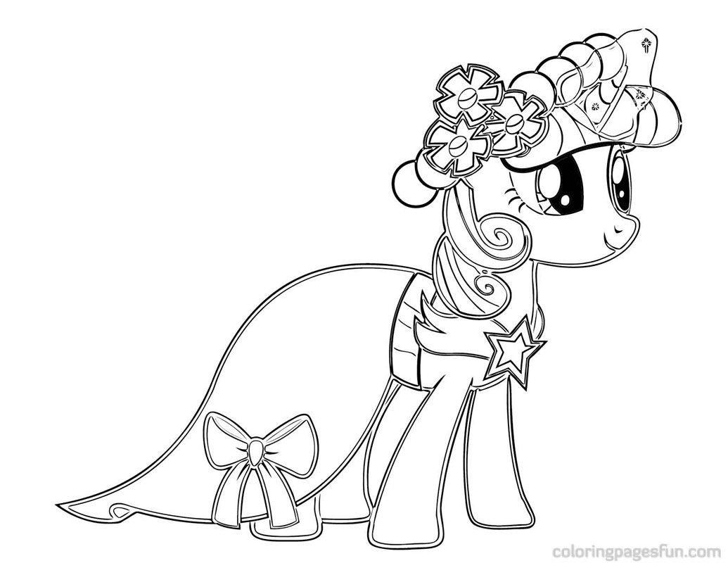 Best ideas about Free Coloring Pages Twilight . Save or Pin My Little Pony Coloring Pages Twilight Sparkle Castle Now.
