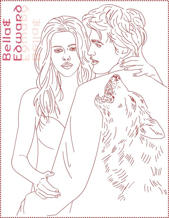 Best ideas about Free Coloring Pages Twilight . Save or Pin Nicole s Free Coloring Pages Twilight Bella Swan Now.