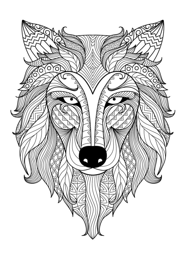Best ideas about Free Coloring Pages Wolf . Save or Pin Get the coloring page Wolf Now.