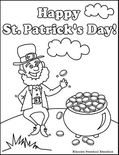 Best ideas about Free Coloring Sheets For Kids For St Patrick'S Day . Save or Pin Leprechaun Coloring Page For St Patrick's Day It's a Now.