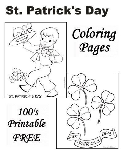 Best ideas about Free Coloring Sheets For Kids For St Patrick'S Day . Save or Pin 1000 images about St Patrick s Day for Kids on Pinterest Now.