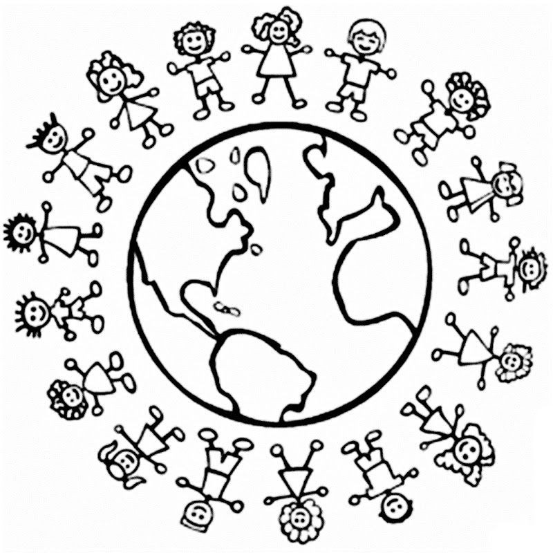 Best ideas about Free Coloring Sheets For Kids For St Patrick'S Day . Save or Pin universal children s day coloring pages Now.