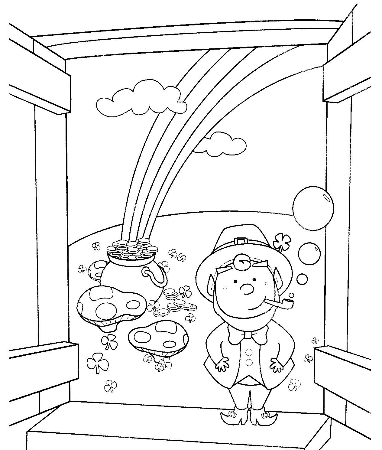 Best ideas about Free Coloring Sheets For Kids For St Patrick'S Day . Save or Pin St Patrick s Day Coloring Pages for childrens printable Now.