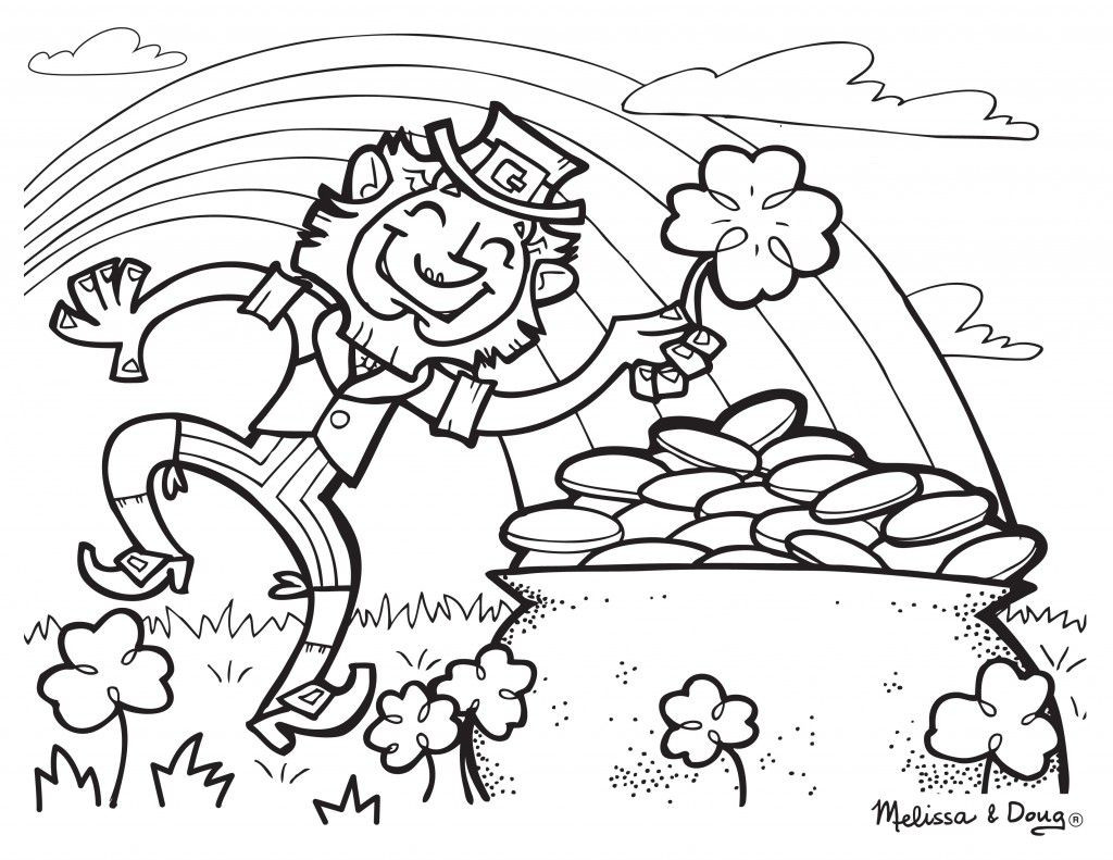 Best ideas about Free Coloring Sheets For Kids For St Patrick'S Day . Save or Pin Free St Patrick s Day Printables from Melissa & Doug Now.
