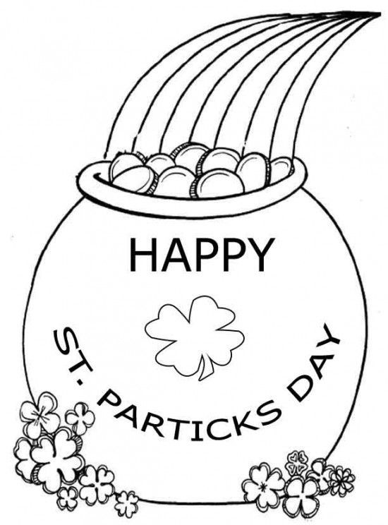 Best ideas about Free Coloring Sheets For Kids For St Patrick'S Day . Save or Pin Free Worksheets St Patrick s Day Coloring Pages For Kids Now.