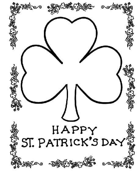 Best ideas about Free Coloring Sheets For Kids For St Patrick'S Day . Save or Pin St Patrick s Day Coloring Pages and Free Printables Now.