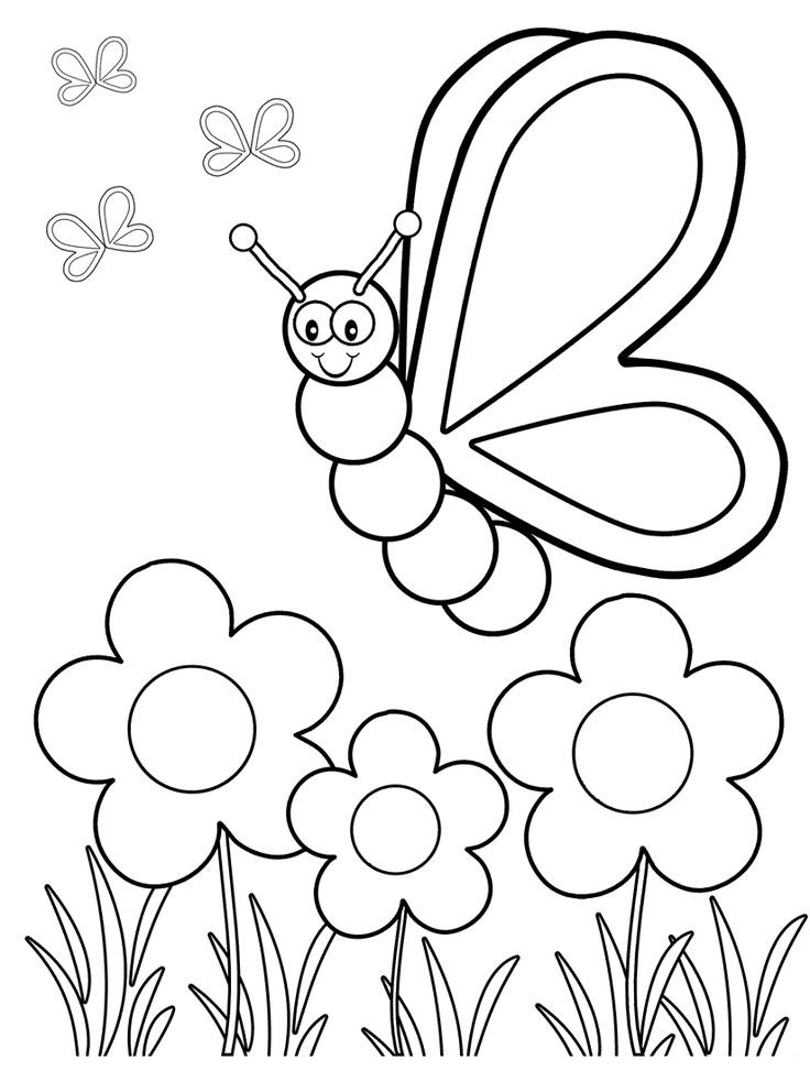 Best ideas about Free Coloring Sheets For Kindergarten . Save or Pin Top 50 Free Printable Butterfly Coloring Pages line Now.
