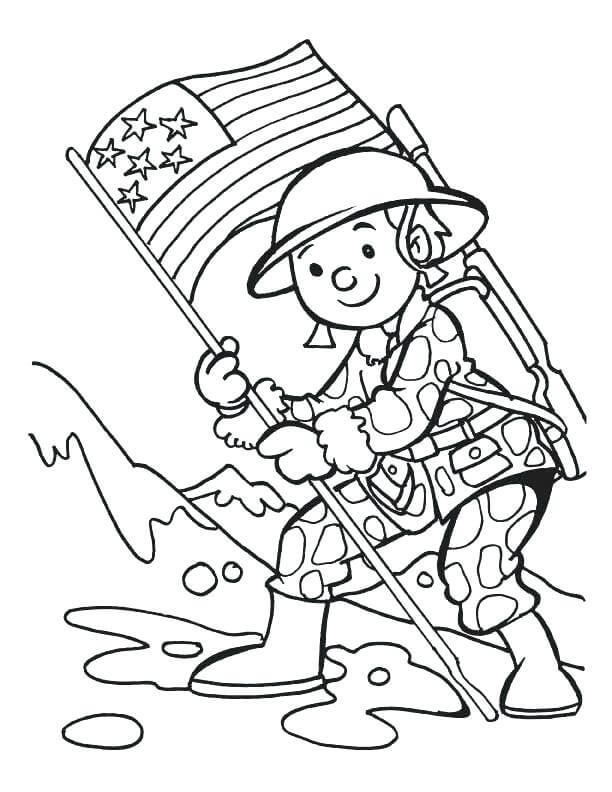 Best ideas about Free Coloring Sheets For Memorial Day . Save or Pin 25 Free Printable Memorial Day Coloring Pages Now.