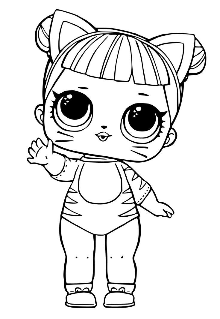 Best ideas about Free Coloring Sheets That Challange Kids . Save or Pin Lol dolls coloring pages printables hatea Now.