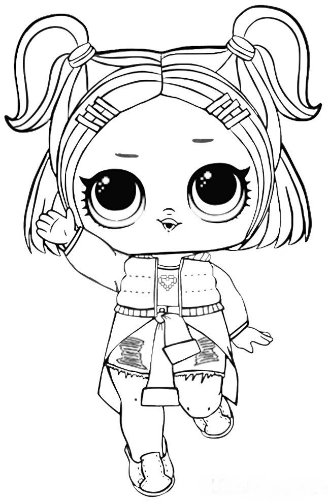 Best ideas about Free Coloring Sheets That Challange Kids . Save or Pin LOL Surprise coloring pages to and print for free Now.