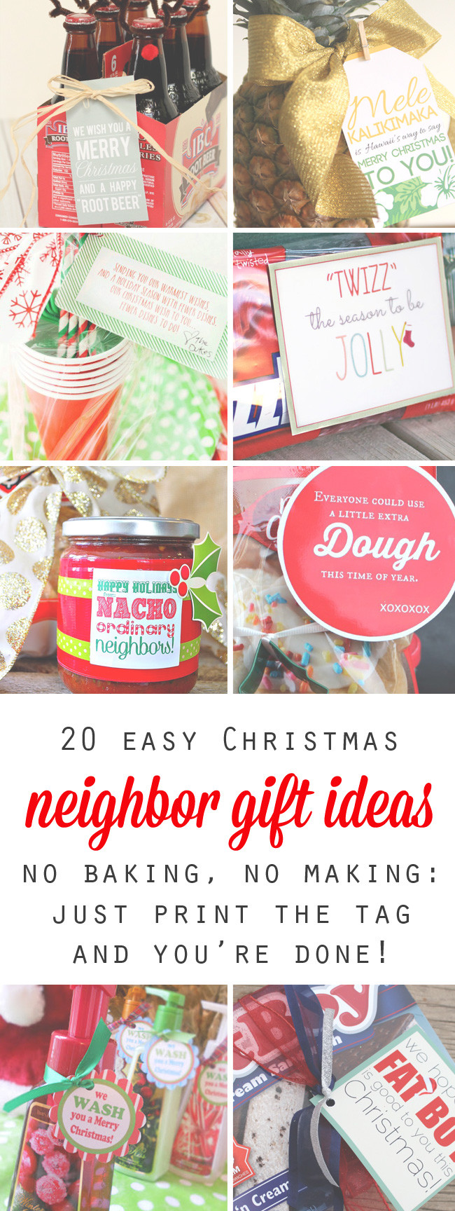 Best ideas about Free Gift Ideas . Save or Pin 20 quick easy and cheap neighbor t ideas for Now.