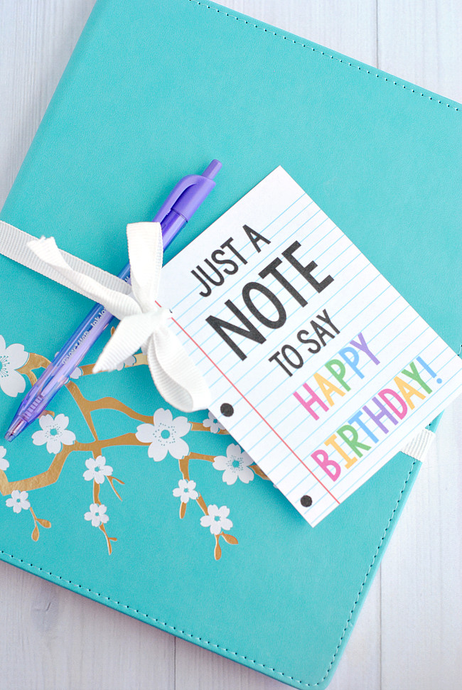 Best ideas about Free Gift Ideas . Save or Pin Free Birthday Printables Eighteen25 Now.