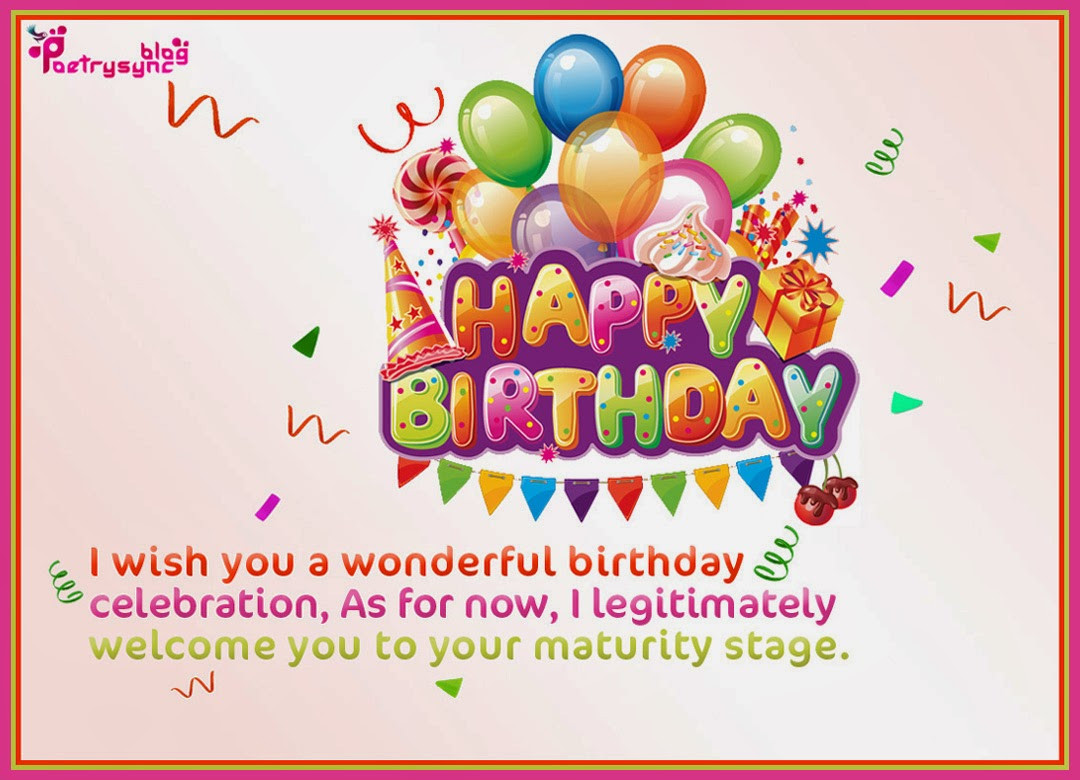 Best ideas about Free Happy Birthday Wishes . Save or Pin Happy Birthday Greetings and Wishes Picture eCards Now.