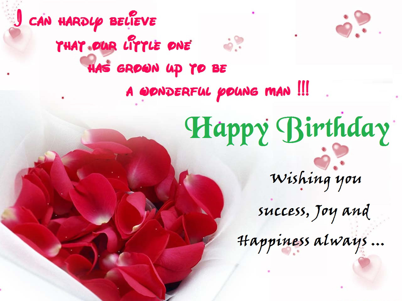 Best ideas about Free Happy Birthday Wishes . Save or Pin Birthday Messages Now.