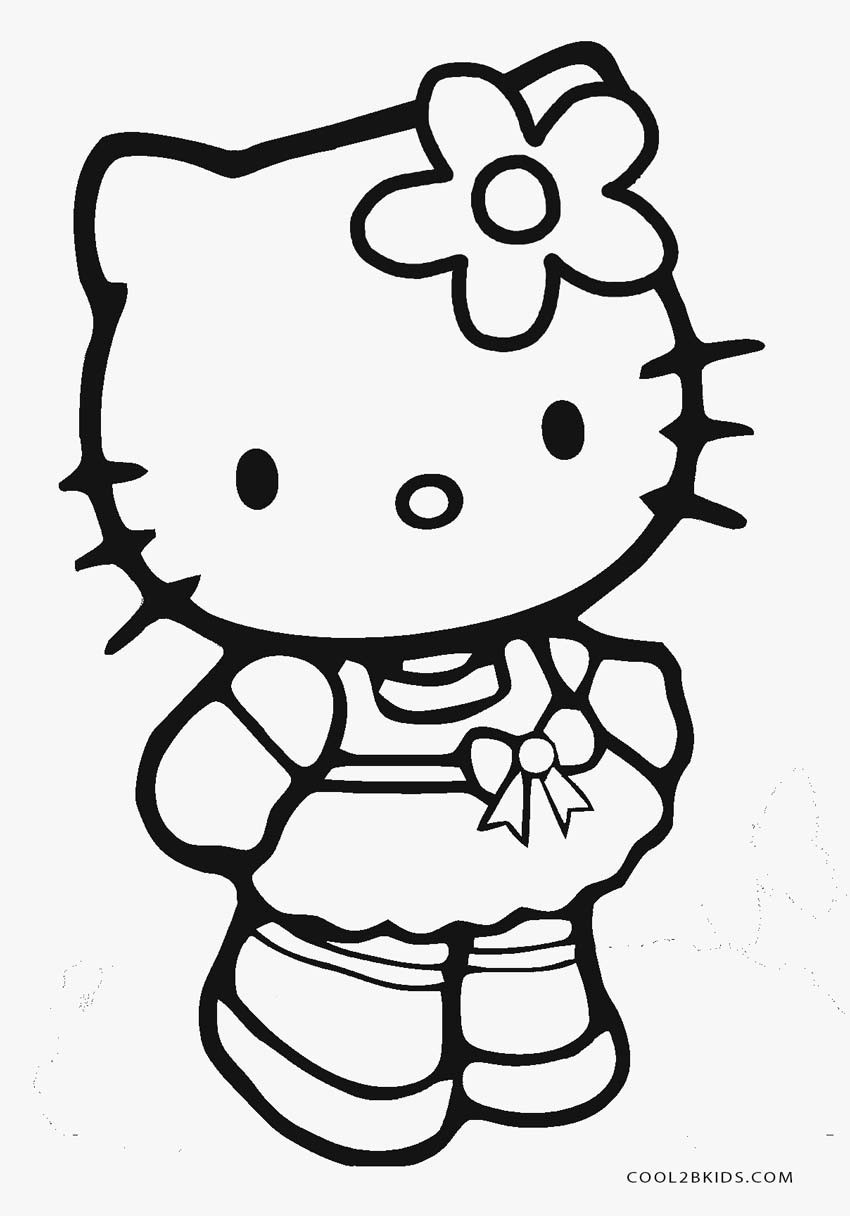 Best ideas about Free Hello Kitty Coloring Pages For Girls . Save or Pin Free Printable Hello Kitty Coloring Pages For Pages Now.