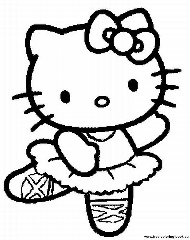 Best ideas about Free Hello Kitty Coloring Pages For Girls . Save or Pin Free Printable Hello Kitty Coloring Pages Coloring Home Now.