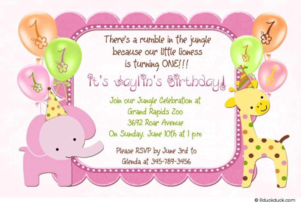 Best ideas about Free Kids Birthday Invitations . Save or Pin 21 Kids Birthday Invitation Wording That We Can Make Now.