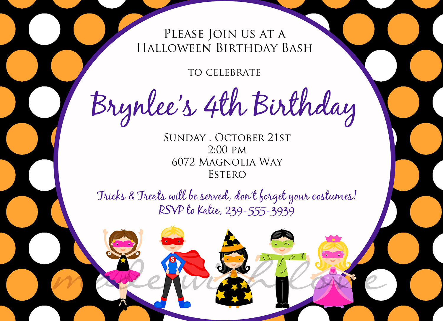 Best ideas about Free Kids Birthday Invitations . Save or Pin Kids Birthday Party Invitation Wording – Bagvania FREE Now.