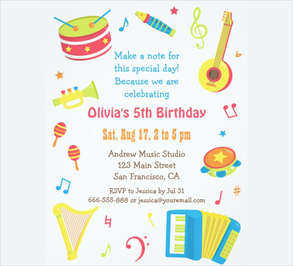 Best ideas about Free Kids Birthday Invitations . Save or Pin FREE Birthday Party Invites for Kids – FREE Printable Now.