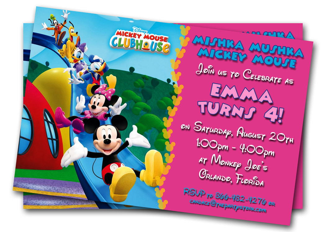 Best ideas about Free Kids Birthday Invitations . Save or Pin Minnie Mouse Birthday Invitations Printable Custom Kids Now.