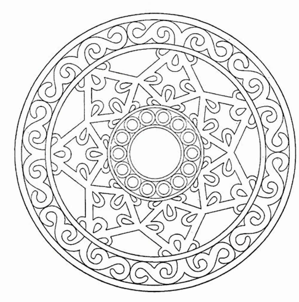 Best ideas about Free Mandala Coloring Pages For Adults . Save or Pin Mandala Adult Coloring Pages Printable Coloring Home Now.