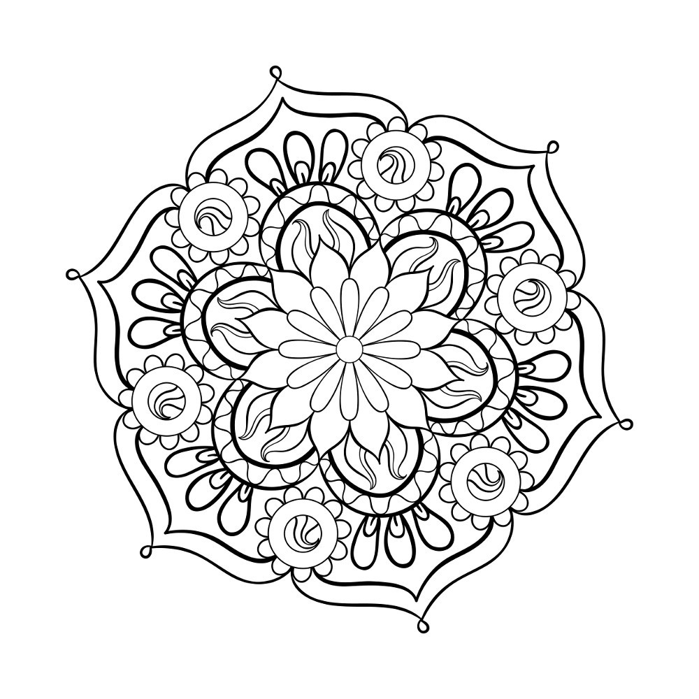 Best ideas about Free Mandala Coloring Pages For Adults . Save or Pin 37 Best Adults Coloring Pages Updated 2018 Now.