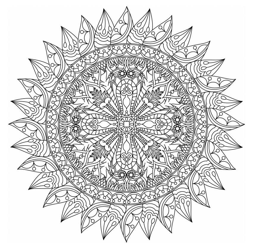Best ideas about Free Mandala Coloring Pages For Adults . Save or Pin Free Printable Mandala Coloring Pages for Adults Now.