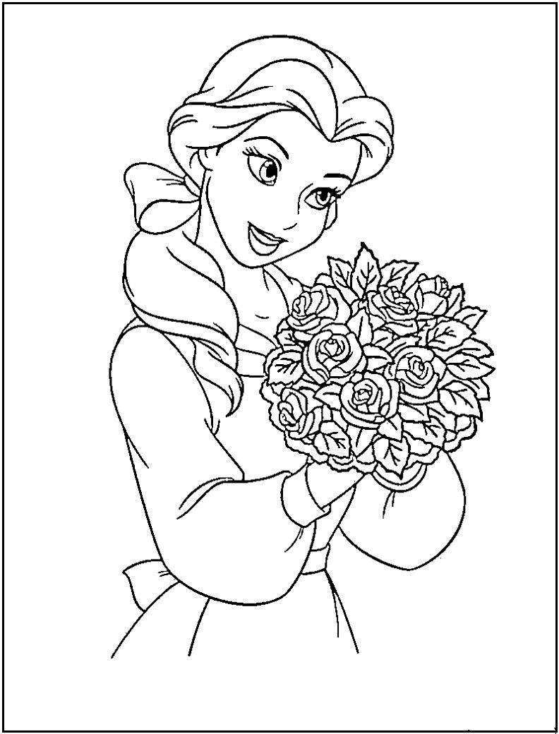 Best ideas about Free Princess Printable Coloring Pages . Save or Pin Disney Princess coloring pages Free Printable Now.
