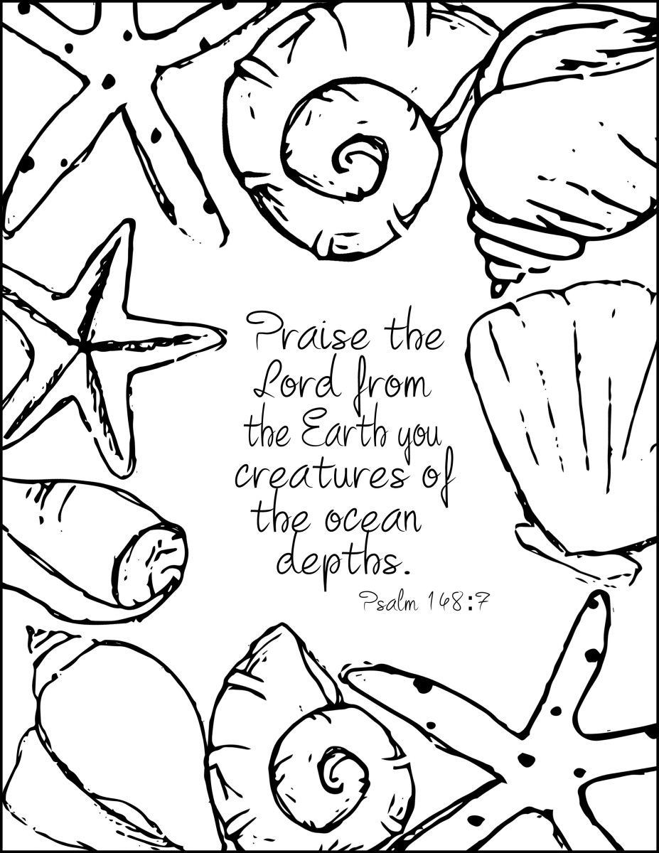 Best ideas about Free Printable Bible Preschool Coloring Sheets . Save or Pin Summer Inspired Free Coloring Pages With Bible Verses Now.