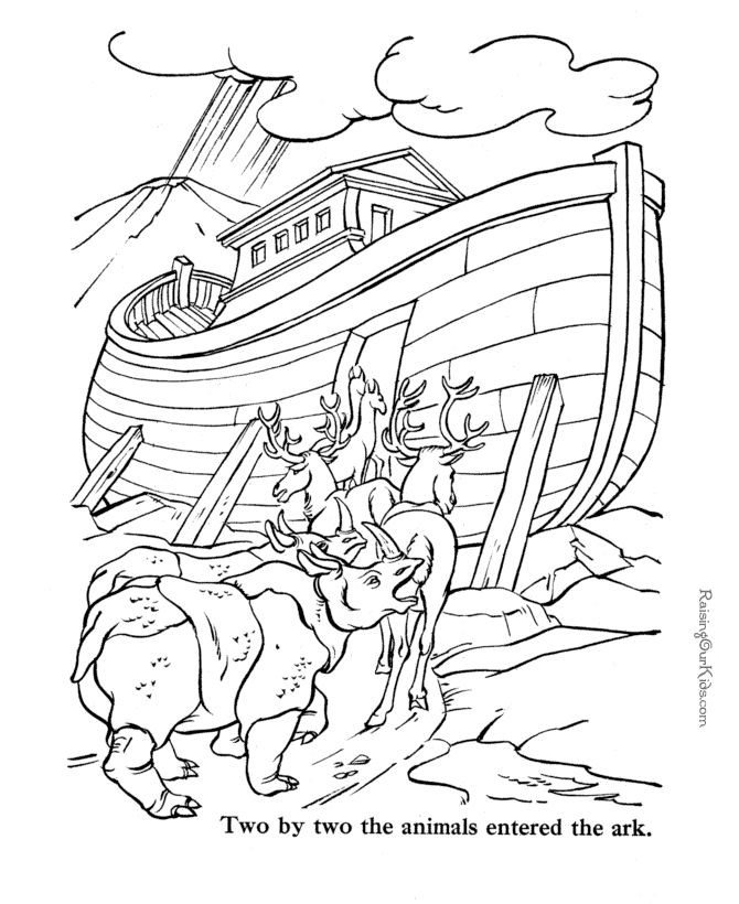 Best ideas about Free Printable Bible Preschool Coloring Sheets . Save or Pin Free Bible coloring pages to print Noah Now.