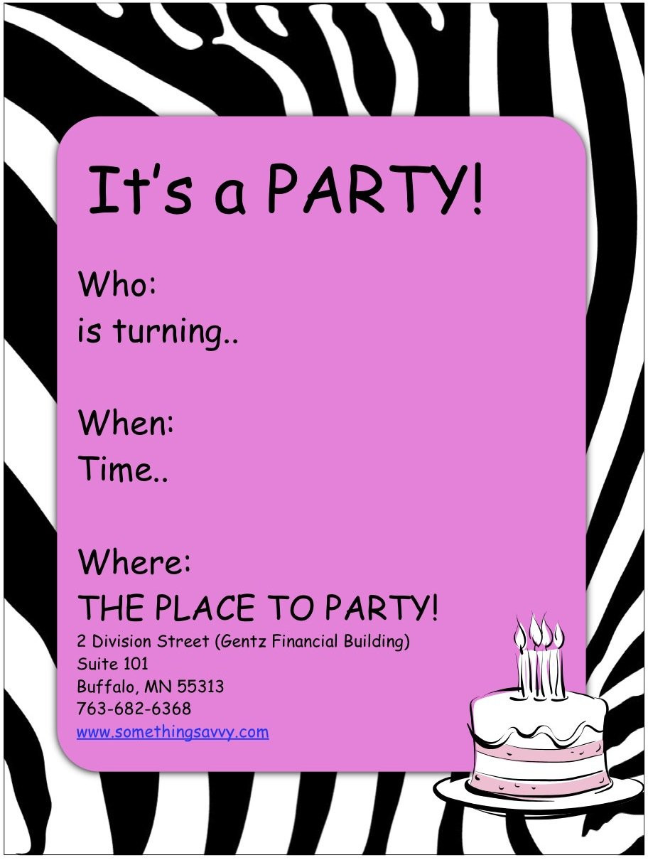 Best ideas about Free Printable Birthday Invitations For Girl . Save or Pin Free Printable Girls Spa Birthday Invitations Now.