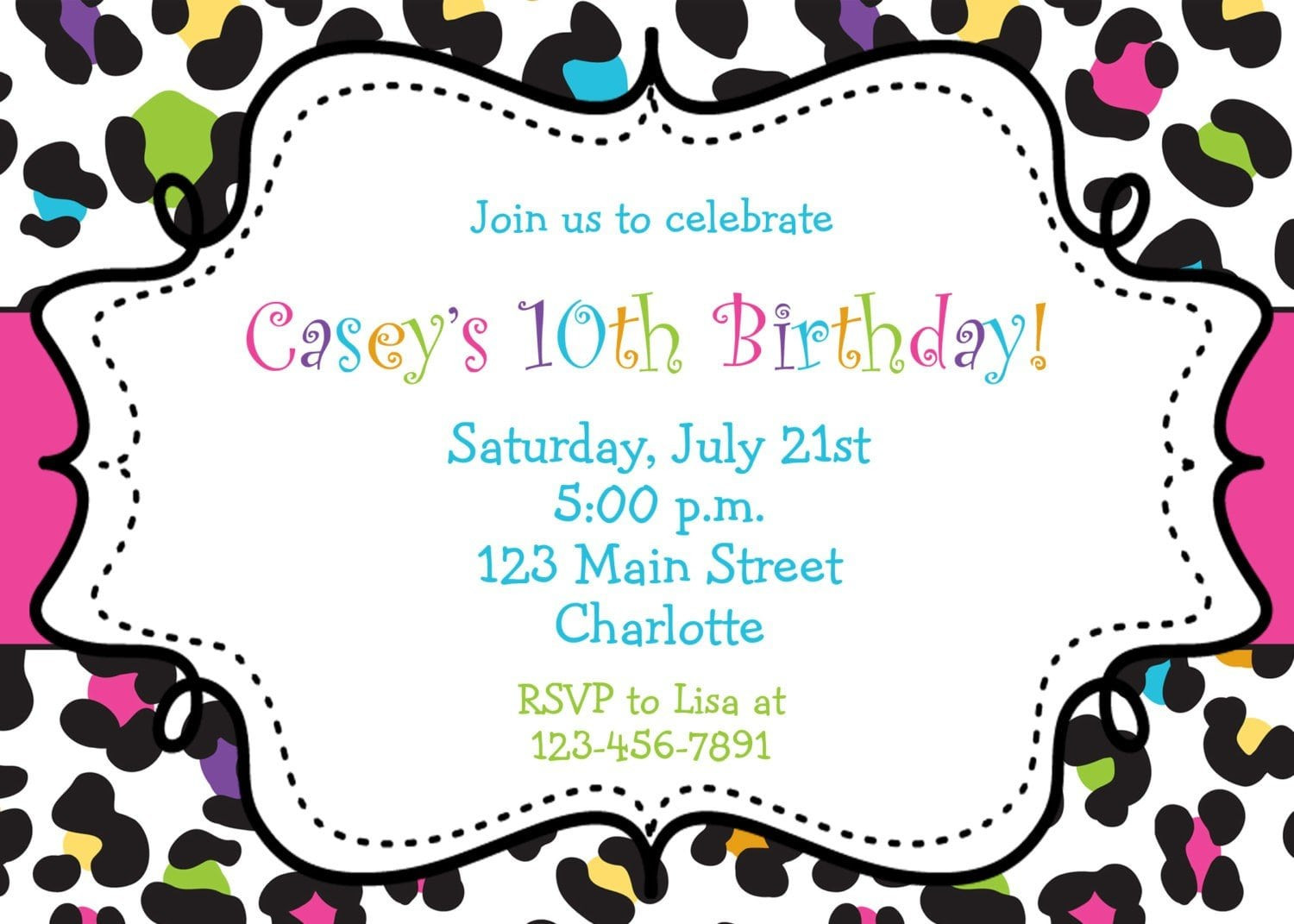 Best ideas about Free Printable Birthday Invitations For Girl . Save or Pin Free Printable Birthday Party Invitations For Tween Girls Now.