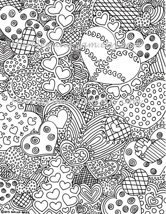 Best ideas about Free Printable Christmas Coloring Sheets For Girls Hard . Save or Pin Hard Coloring Pages Dr Odd Now.