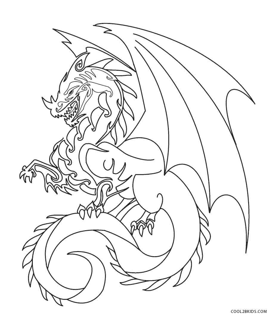 Best ideas about Free Printable Coloring Pages Dragons . Save or Pin Printable Dragon Coloring Pages For Kids Now.