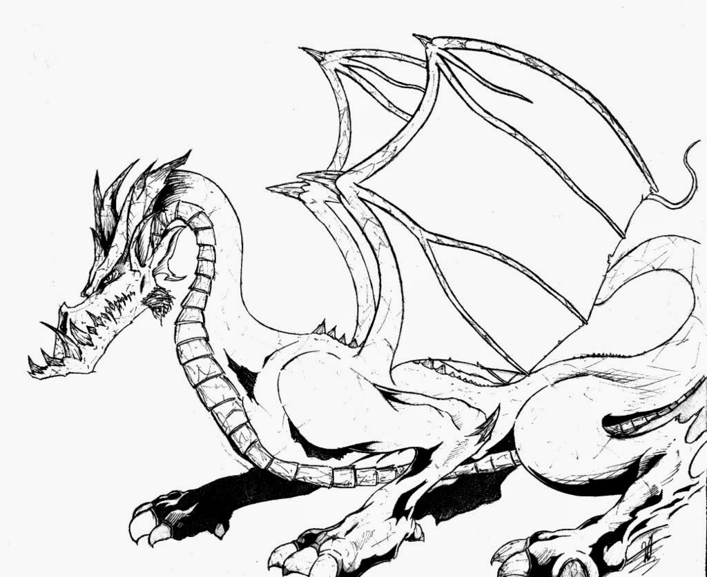 Best ideas about Free Printable Coloring Pages Dragons . Save or Pin Coloring Pages Dragon Coloring Pages Free and Printable Now.