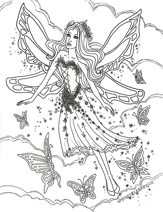 Best ideas about Free Printable Coloring Pages For Adults Dark Fairies . Save or Pin Free Colouring Pages Now.