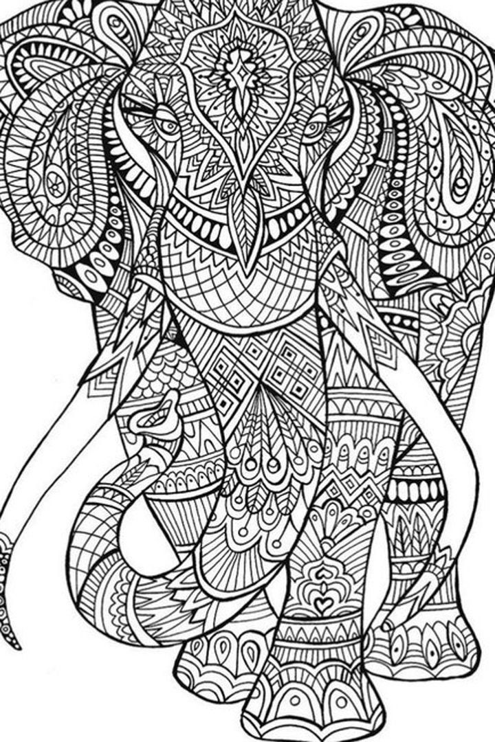 Best ideas about Free Printable Coloring Sheets For Boys Animal . Save or Pin 50 Printable Adult Coloring Pages That Will Make You Feel Now.